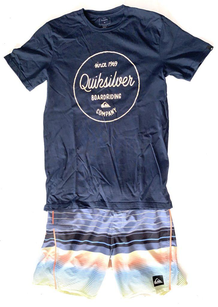 Boardshorts mit T-Shirt