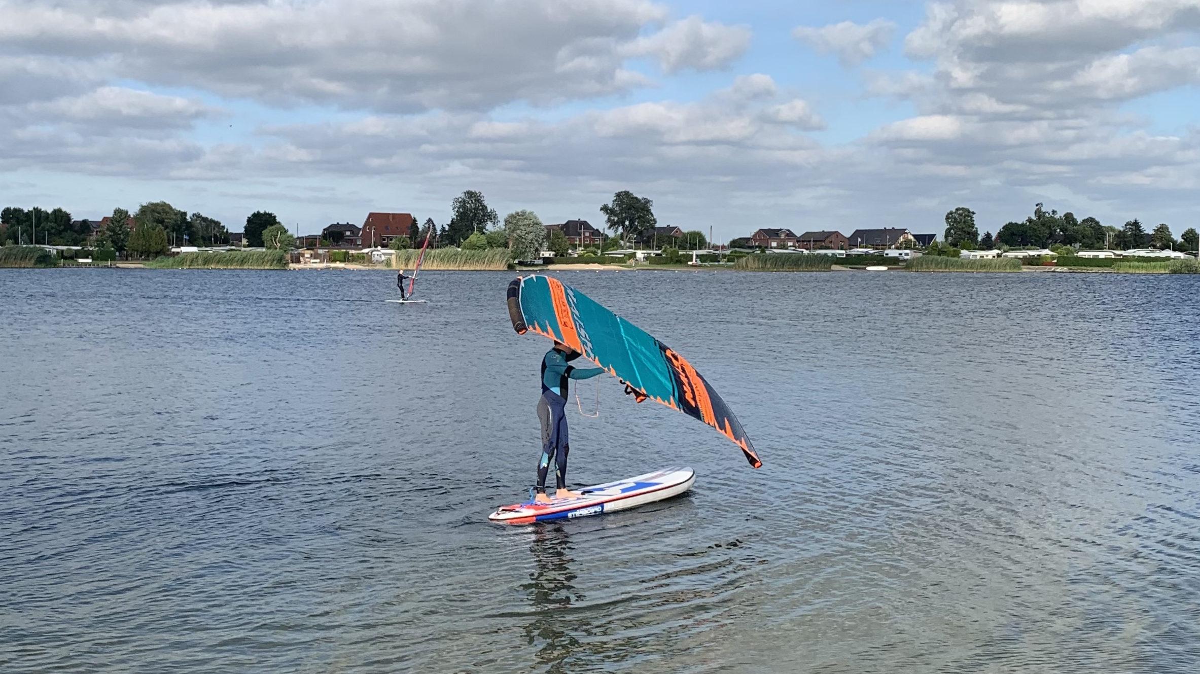 Wingsurfen mit SUP Board