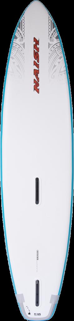"Naish Crossover inflatable 12'0"" x 34"" Fusion S25 Rückseite"