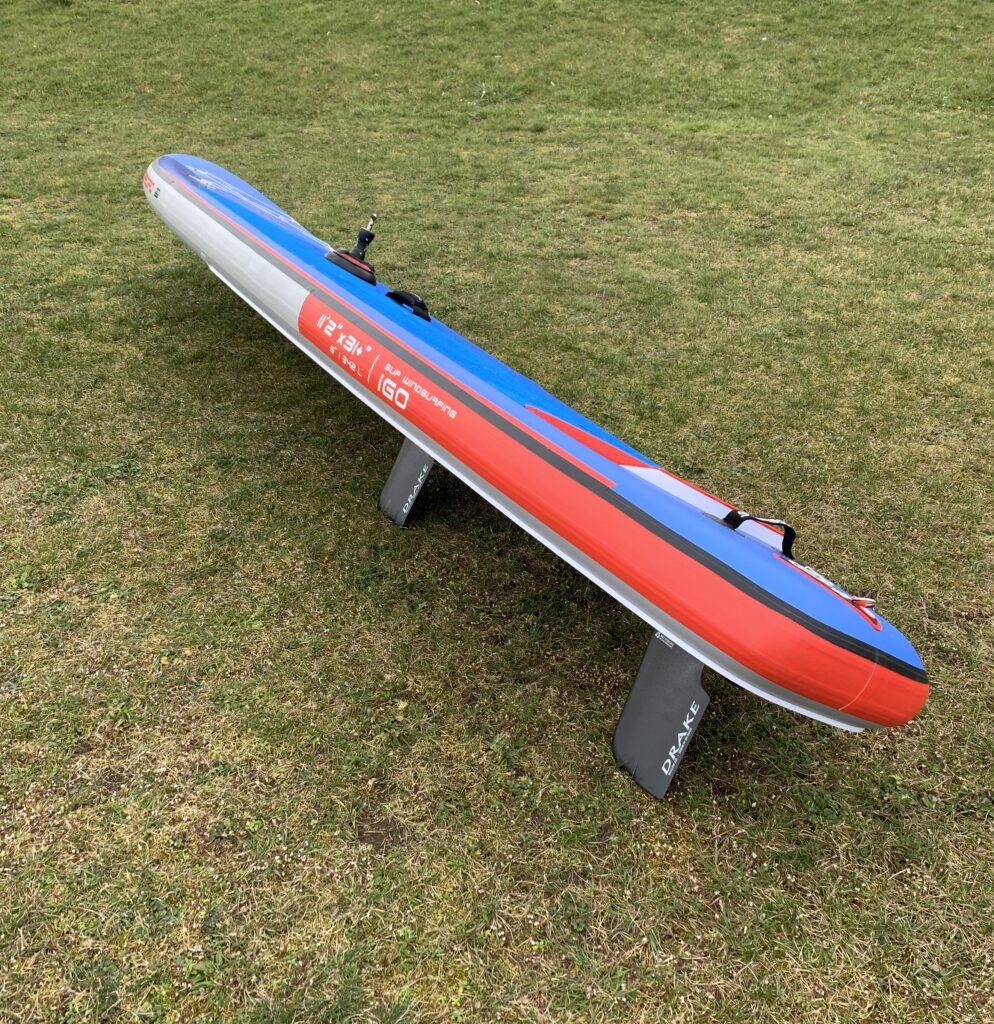 Starboard 2021 SUP Windsurfing mit 2 Finnen