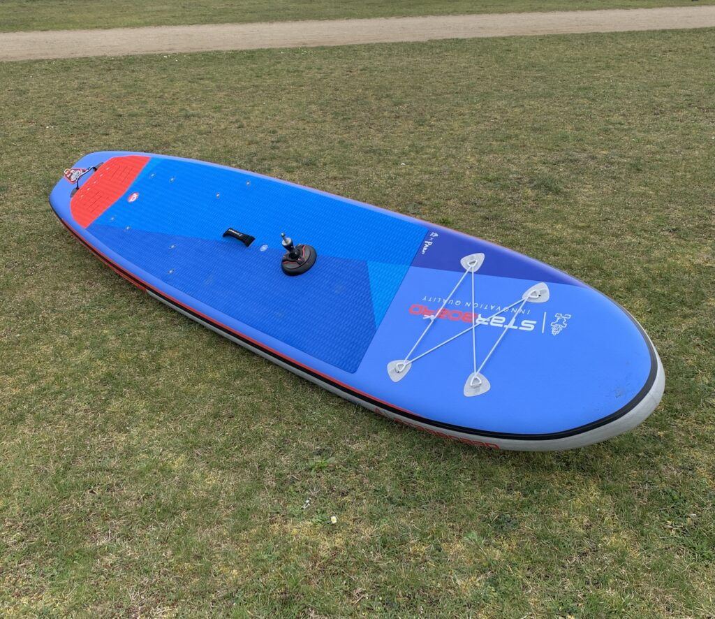 Starboard 2021 SUP Windsurfing inflatable Test